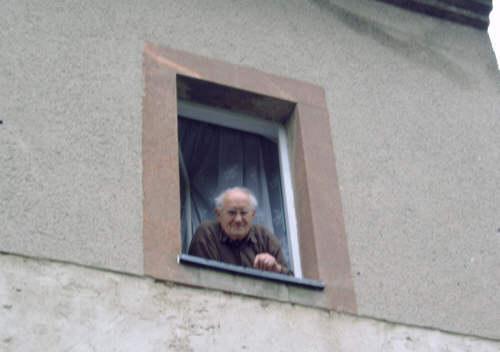 Unser stammtisch himmelfahrt 2006 - Fenster zumauern welcher stein ...